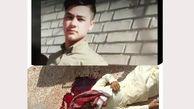 عکس جسد خون آلود جوان خوزستانی / احمد مجدم گلوله خورد