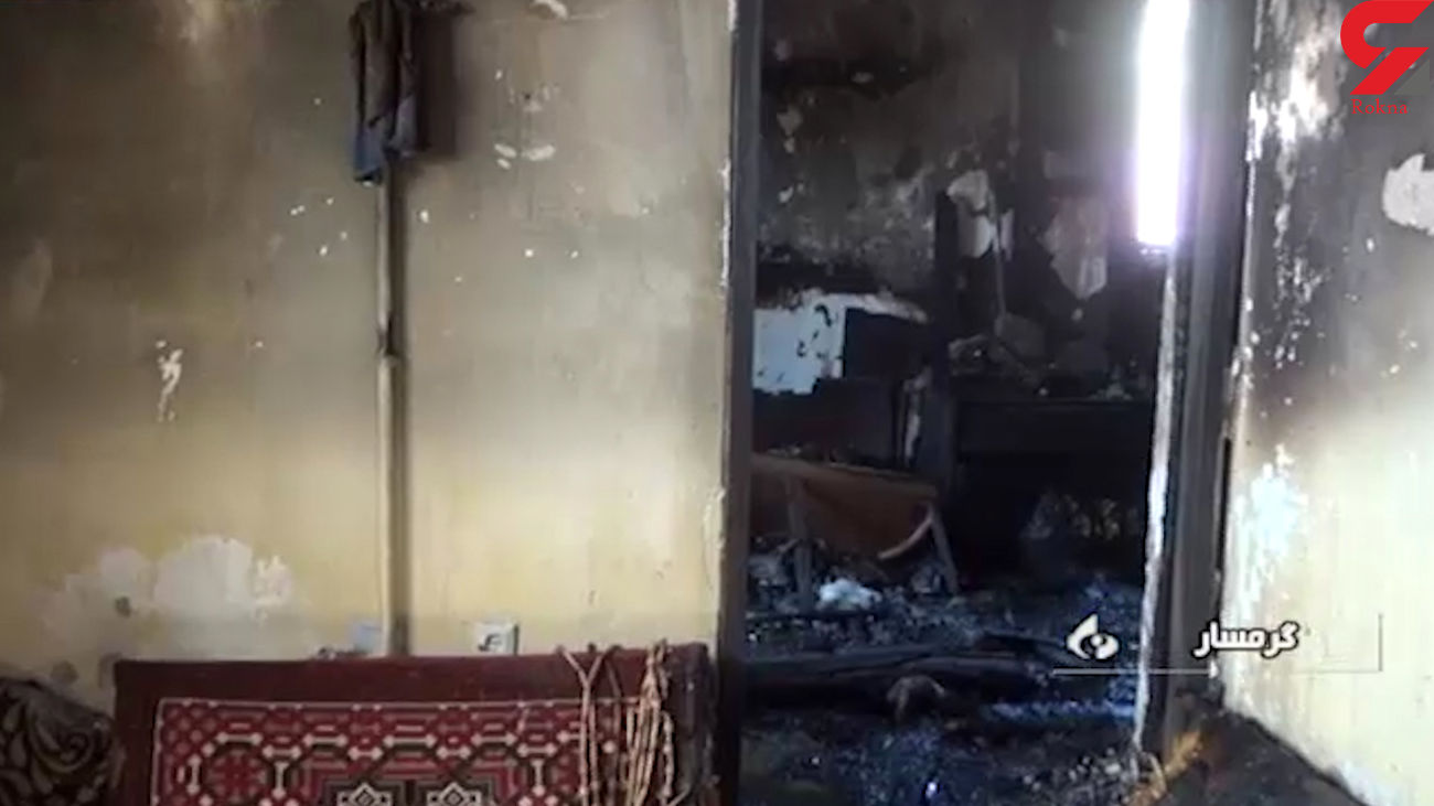 نجات معجزه آسای 5 زن و مرد در این صحنه شوک آور / در گرمسار رخ داد + فیلم