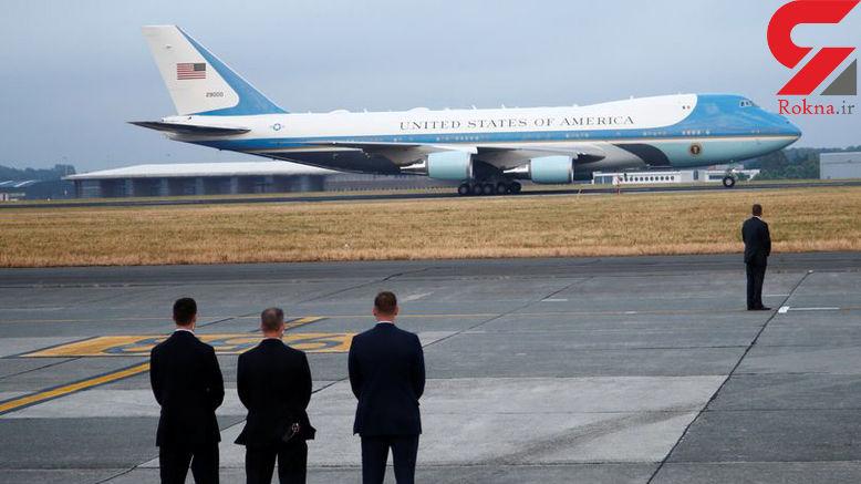داخل هواپیمای شخصی رییس جمهور امریکا چگونه است؟+عکس