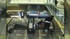 فیلم لحظه مرگ هولناک کودکی در پله برقی
