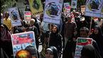 حضور پر شور مردم در راهیپمایی روز قدس +عکس