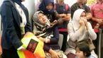 عکسی تلخ  از حال بد خانواده مسافران هواپیمای مرگ