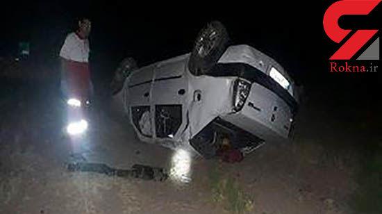 فوت کودک ۸ ساله در حادثه رانندگی در استان قزوین + عکس