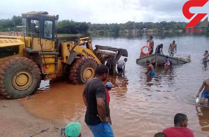 ۲۰ کشته در سقوط کامیون به داخل رودخانه در مالی