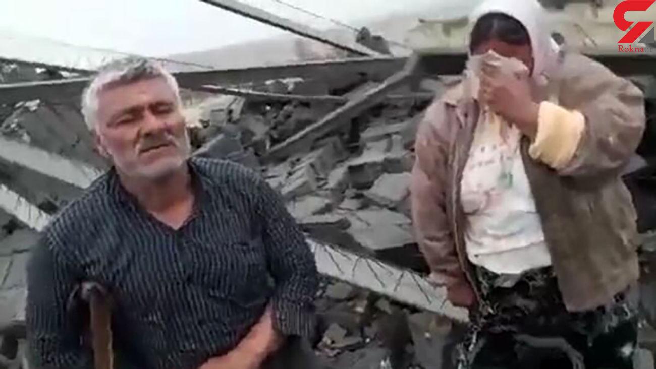 عکس جنجالی تخریب خانه یک معلول در فسا