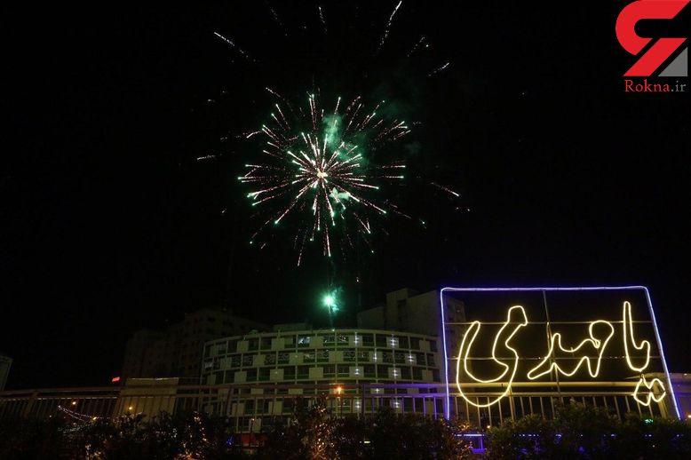 نورافشانی ۱۴ نقطه از شهر تهران به مناسبت نیمه شعبان