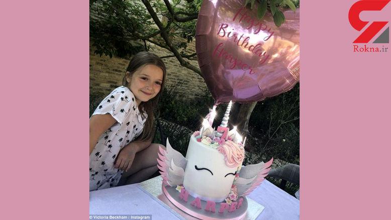 کادوی ویژه برای جشن تولد دختر فوتبالیست مشهور+ عکس