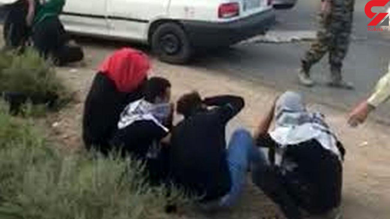 درگیری مسلحانه در نقطه صفر مرزی/ بازداشت 8 سوداگرمرگ در سراوان