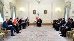 از روابط دوستانه و متوازن تهران – لندن استقبال میکنیم