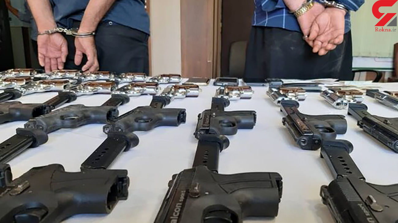 انهدام باند قاچاق سلاح و مهمات در مهاباد