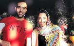 بحث و جدل بر سرحرفهای تازه کیمیا علیزاده / بخاطر آرامش رفتم ! + فیلم کشف حجاب