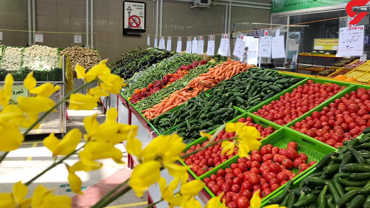 قیمت میوه و سبزی + جدول