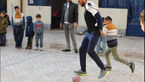 بازیکن پرسپولیس در مدرسه پا به توپ شد