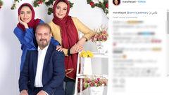 عکس های خانواده بازیگر و هنرمند با تم بهاری