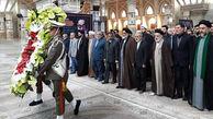 تجدید میثاق مسئولان و کارگروه های ستاد دهه فجر انقلاب با بنیانگذار جمهوری اسلامی ایران