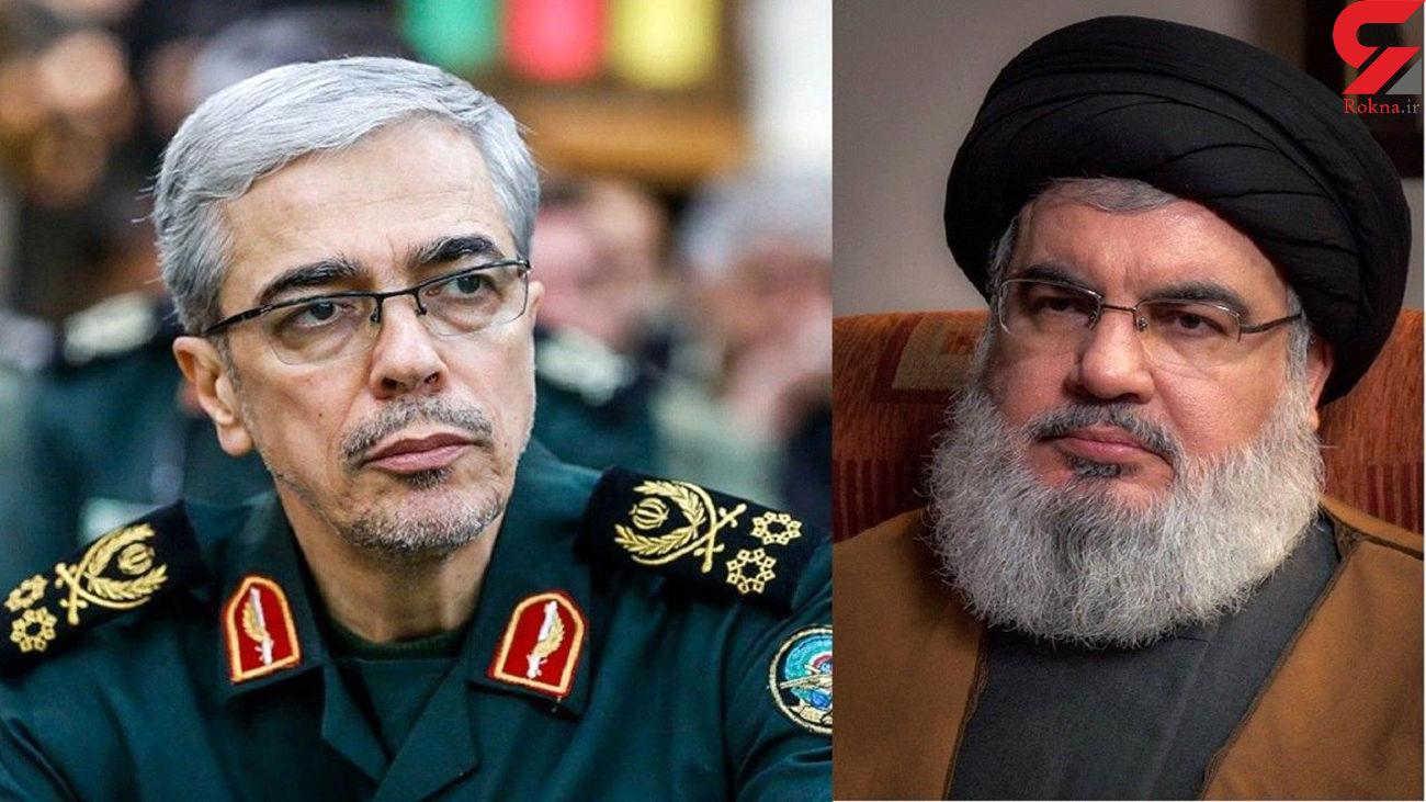 آمادگی نیروهای مسلح جمهوری اسلامی ایران برای کمک به آسیبدیدگان حادثه بیروت