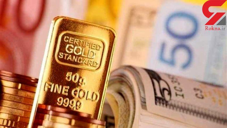 قیمت طلا، سکه و ارز امروز 1397/09/17