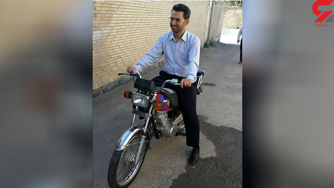 استقبال مردم از موتورسواری آذری جهرمی + عکس