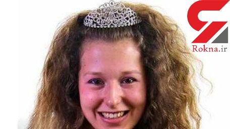 بی شرم ترین دختر دانشجوی انگلیس / او تاج کثافتکاری گرفت! + عکس