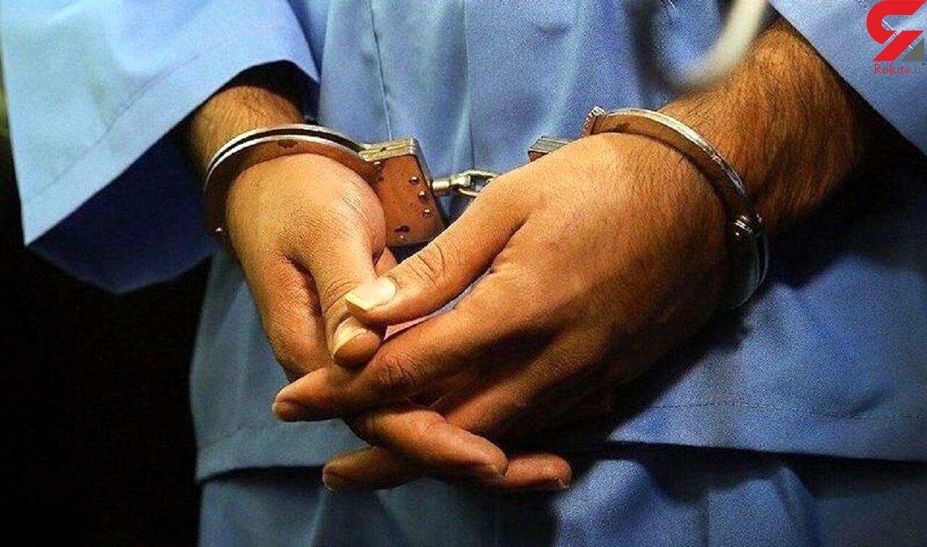 بازداشت شروری که با چاقو به پلیس تهران حمله کرد