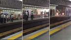 فیلم درگیری و تیراندازی در مترو شهرری / حمله مرد شرور با چاقو به مردم + فیلم