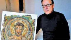 کشف موزاییک 10 میلیون یورویی + عکس