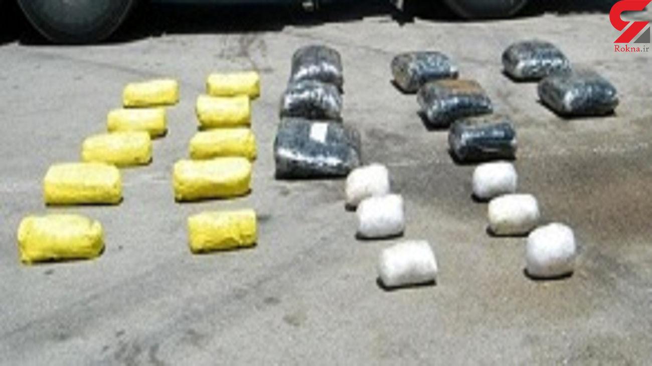 کشف 125 کیلو مواد مخدر در اصفهان