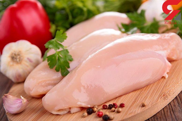نشانه های  گوشت مرغ سالم چیست؟