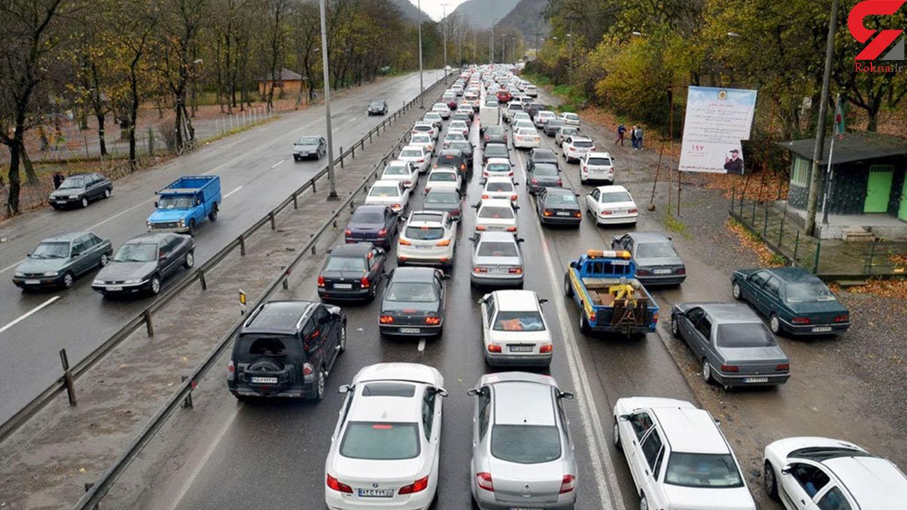 تردد در جاده های اردبیل تا 100 درصد افزایش یافت