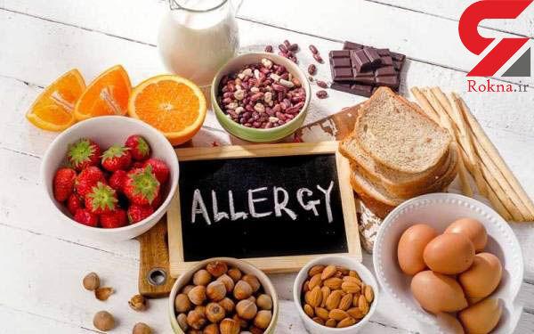 نشانه های آلرژی غذایی را بشناسید