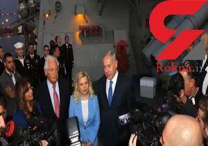 نتانیاهو: حضور ناوشکن آمریکا در بندر اشدود، نشانگر حمایت واشنگتن از تلآویو است