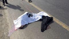 برخورد مرگبار پژو پارس با عابر پیاده+عکس
