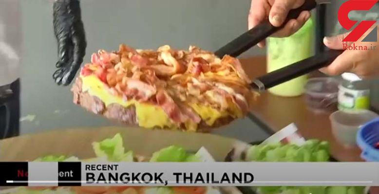 مسابقه بین شکموها در تایلند!