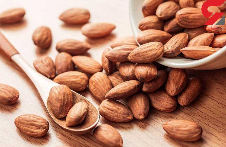کاهش قند خون با چند عدد بادام در طول روز