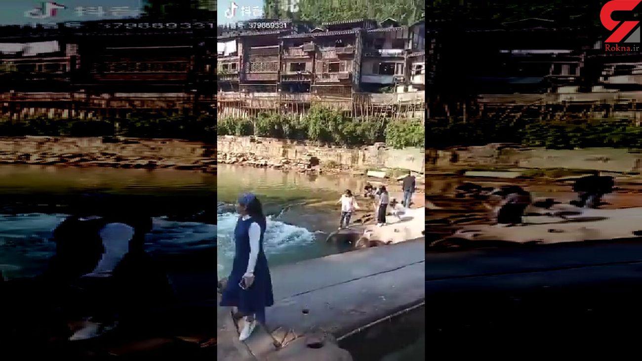 نجات دختر جوان از مرگ توسط مدیر کنسولگری انگلیس در چین + فیلم دیدنی
