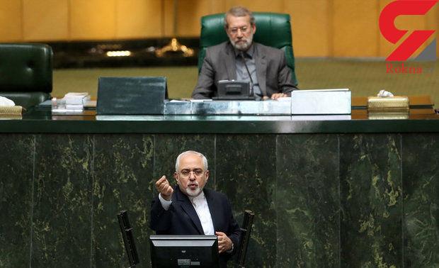 ظریف: نقش محوری رییس مجلس در موضوع برجام بعدها مشخص میشود