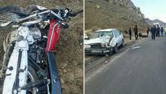مرگ تلخ پسر 15 ساله در دومین تصادف / موتور به خاطر تصادف توقیف بود ولی ..! + عکس