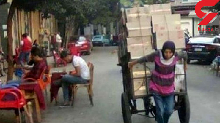 ماجرای زن باربری که با رییس جمهور همنشین شد+عکس