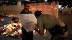 همدردی مردم آمریکا با قربانیان لاس و گاس+تصاویر