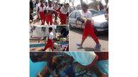 غرق شدن پسر بچه 6 ساله در چابهار+ تصاویر بیرون کشیدن او از آب