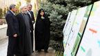 دکتر حسن روحانی امروز نهال کاشت !