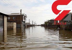 12 روستا در شوشتر در محاصره سیلاب