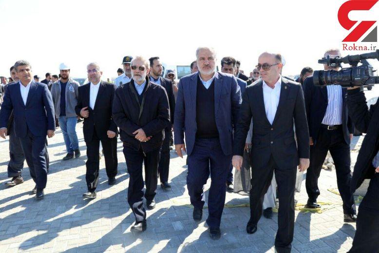 واکنش لاریجانی به اعتراض اهالی یک روستای در دشتیاری/ هنگام افتتاح پروژه آبرسانی صورت گرفت + فیلم