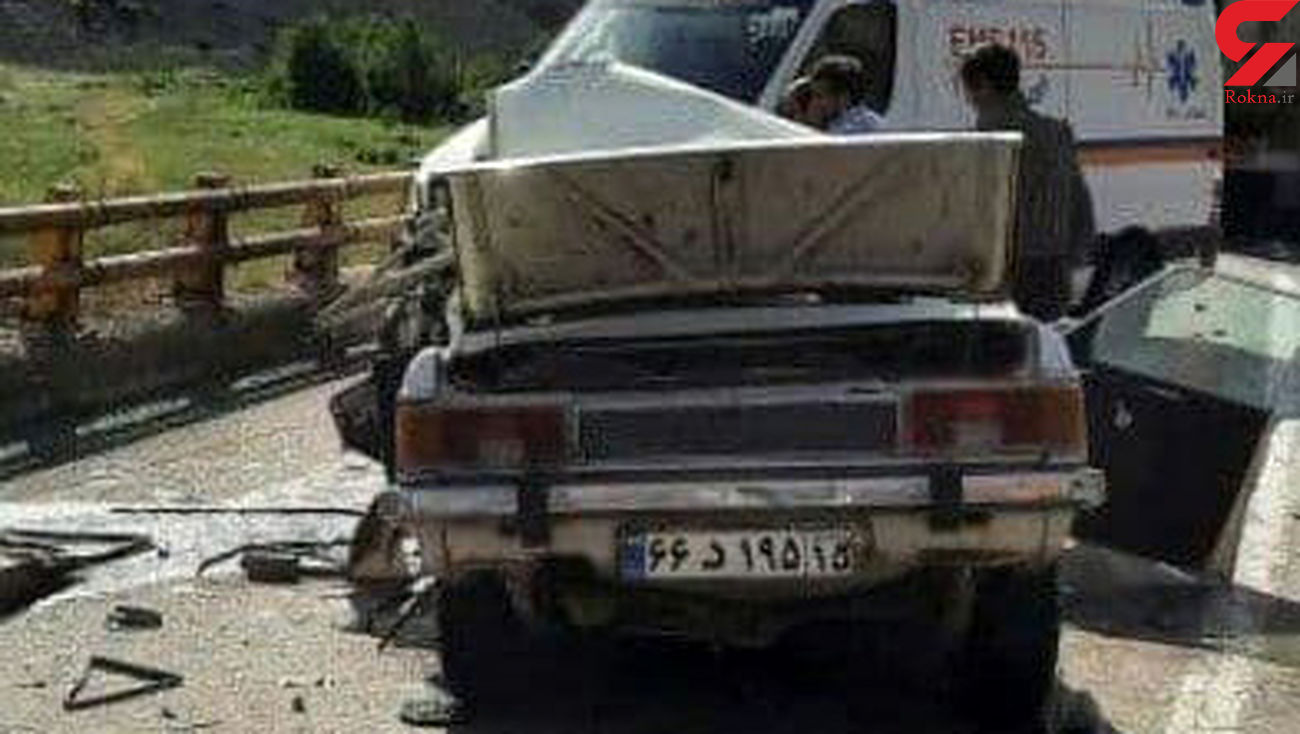 2 کشته در سانحه رانندگی محور میانه – تبریز