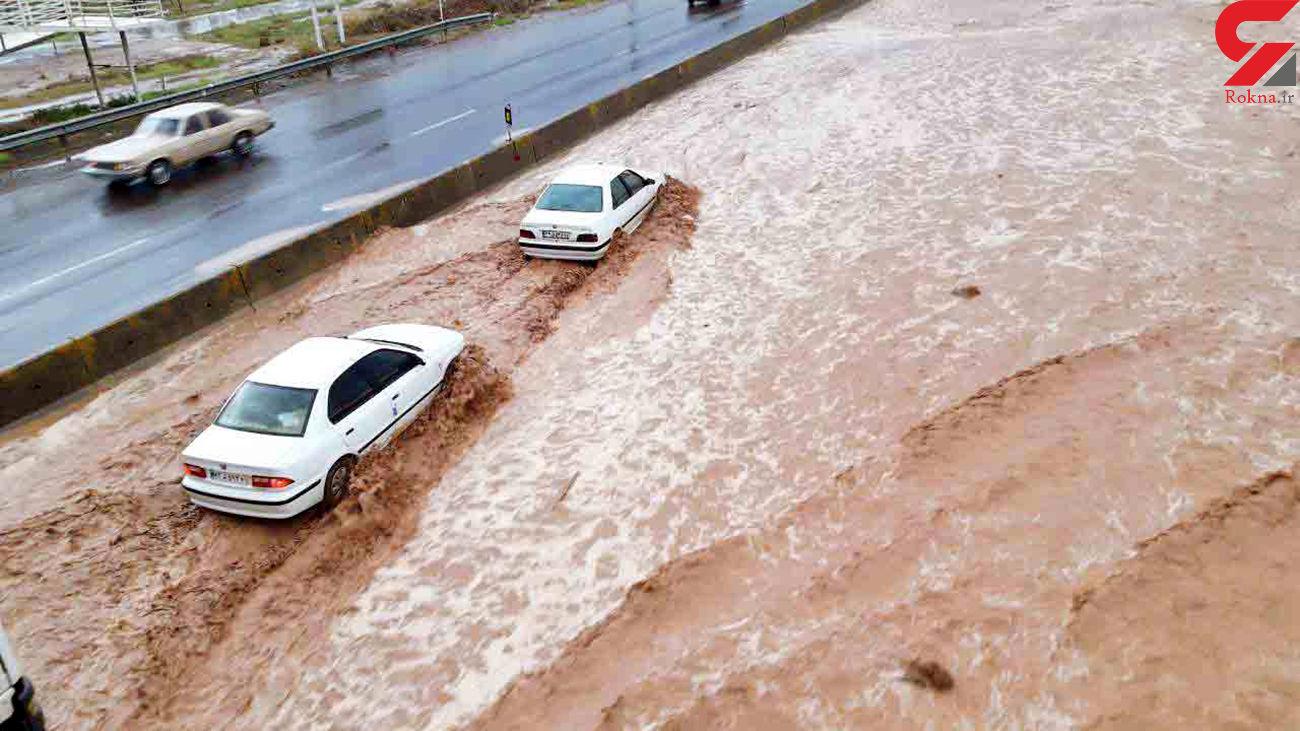 خطر وقوع سیلاب در بهار و تابستان 1400