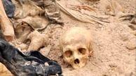 کشف گور دسته جمعی متعلق به دوره صدام حسین + عکس