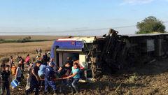 مرگ 24 مسافر در فاجعه خونین قطار / بین تکیراغ به چورلو رخ داد