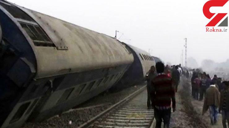 مرگ دلخراش 33 زن و مرد هندی در خروج قطار از ریل