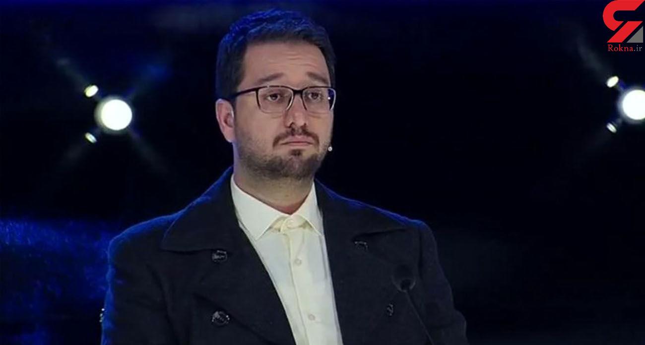 بغض بشیر حسینی برای مادرش در برنامه عصر جدید + فیلم