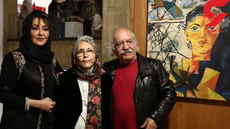 برگزاری نمایشگاه نقاشی های مادر شقایق و گلشیفته فراهانی! عکس